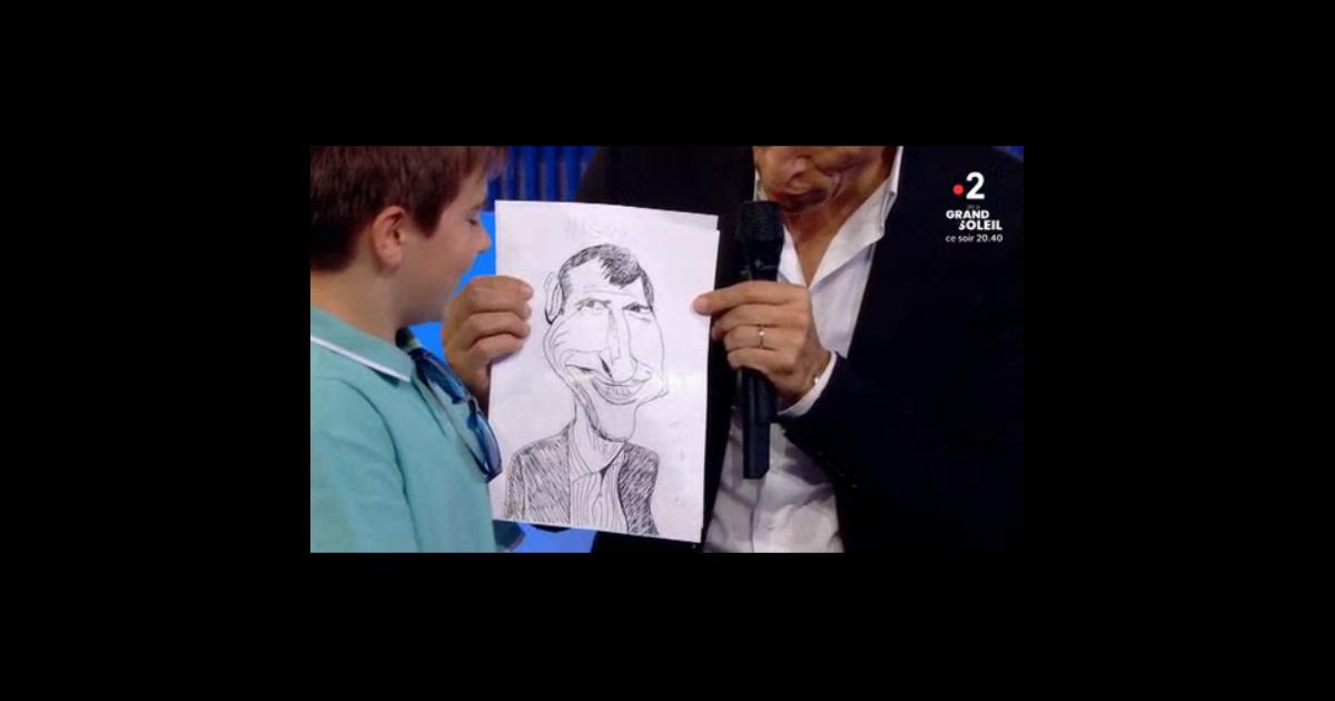 Nagui vex par un dessin offert par un petit gar on a for Dans hongroise n 5
