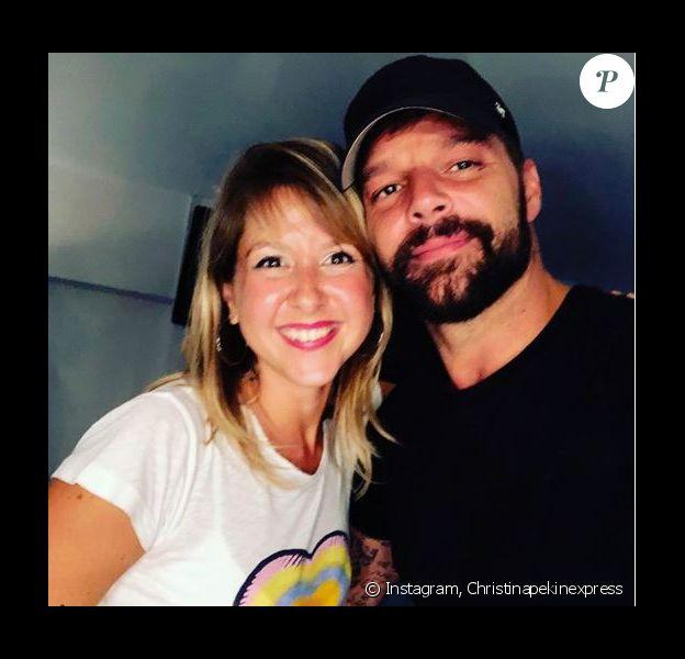 Christina (Pékin Express) en Espagne pour aller au concert de Ricky Martin - Instagram, 29 août 2018