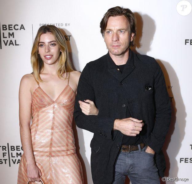 Ewan McGregor et sa fille Clara - Les célébrités posent lors du photocall de la première de 'Zoe' à l'occasion du festival du film de Tribaca à New York le 21 avril 2018. © Charles Guerin-Morgan Dessalles/BESTIMAGE