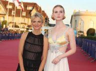 Deauville : Mélanie Laurent émue avec Elle Fanning face à Sophie Davant