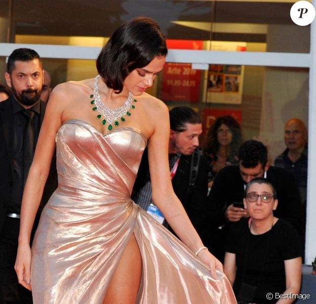 """Bruna Marquezine - Projection du film """"The Sisters Brothers"""" lors du 75ème Festival du Film International de Venise, la Mostra le 2 septembre 2018."""