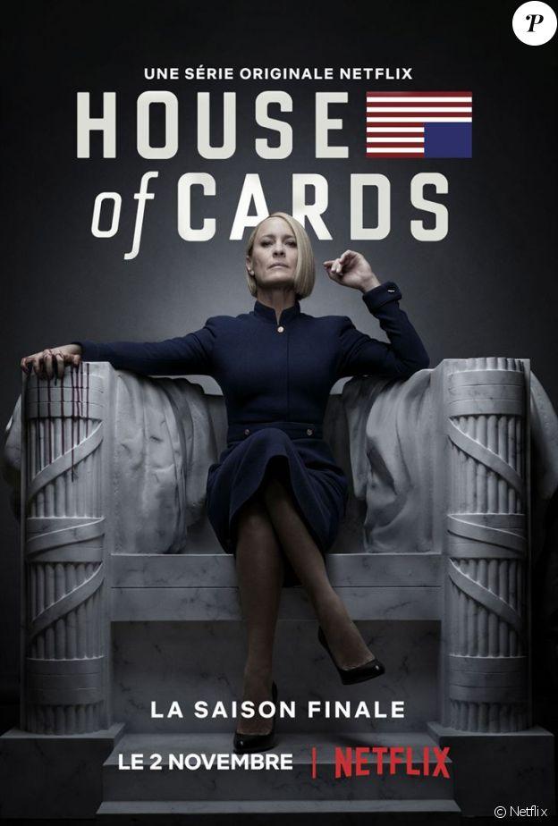 """Robin Wright dans la saison 6 de """"House of Cards"""", disponible le 2 novembre 2018 au Netflix."""