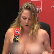 Constance : L'humoriste seins nus sur France Inter reçoit des messages odieux