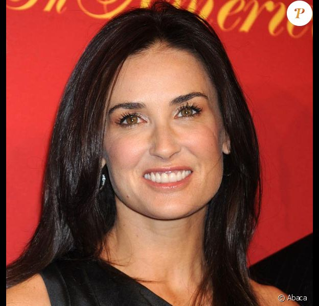 Demi Moore, très en beauté, à l'occasion du 100e anniversaire en Amérique de Cartier, au Cartier 5th Avenue Mansion de New York, le 30 avril 2009 !
