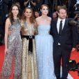 """Natalie Portman, Stacy Martin, Raffey Cassidy, Brady Corbet - Montée des marches de la première du film """"Vox Lux"""" lors du 75ème festival du film de Venise, la Mostra le 4 septembre 2018."""