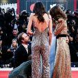 """Stacy Martin, Natalie Portman, Brady Corbet - Montée des marches de la première du film """"Vox Lux"""" lors du 75ème festival du film de Venise, la Mostra le 4 septembre 2018."""