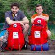 """Florian et Gabriel, 31 ans et 22 ans, les candidats de """"Pékin Express 2018 : La Course infernale""""(M6)."""