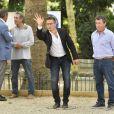 Exclusif - Christian Constant - Tournoi de pétanque des Toques Blanches Internationales au Jardin du Luxembourg à Paris le 10 septembre 2018.