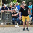 Exclusif - Jean-Marie Bigard lors du tournoi de pétanque des Toques Blanches Internationales au Jardin du Luxembourg à Paris, France, le 10 septembre 2018.