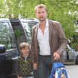 Le petit Felix s'est rendu à l'école le jour de la naissance de son petit frère, comme si de rien n'était !