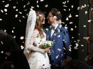 Mariage de Thomas Hollande : Les détails de la robe d'Émilie Broussouloux