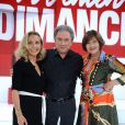"Exclusif - Natalie Dessay, Michel Drucker, Macha Méril - Enregistrement de l'émission ""Vivement Dimanche"" à Paris le 29 aout 2018 et qui sera diffusée le 16 septembre 2018. © Guillaume Gaffiot/Bestimage"