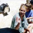 Kelly Ripa avec ses enfants au zoo de Miami, ici avec Joaquin