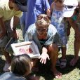 Kelly Ripa avec ses enfants au zoo de Miami