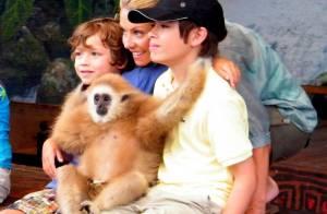 L'adorable Kelly Ripa, une maman formidable avec ses enfants... sur son lieu de travail !