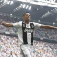 Cristiano Ronaldo lors du match Juventus de Turin- Sassuolo à l'Allianz Stadium de Turin le 16 septembre 2018.