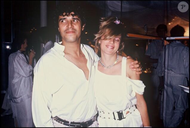 Julien Clerc et Virginie Coupérie-Eiffel en 1985.
