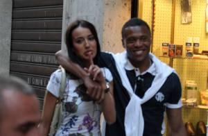 Julio Baptista : avec sa petite amie, le joueur de foot est un parfait latin lover !