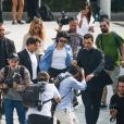 Kendall Jenner - Arrivées des people au défilé Alberta Ferretti lors de la Fashion Week de Milan le 19 septembre 2018.