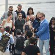 Bella et Gigi Hadid - Arrivées des people au défilé Alberta Ferretti lors de la Fashion Week de Milan le 19 septembre 2018.