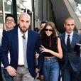 Kaia Gerber - Arrivées des people au défilé Alberta Ferretti lors de la Fashion Week de Milan le 19 septembre 2018.