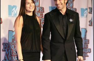 Le footballeur italien Alessandro Del Piero... est papa d'une adorable fille !