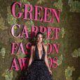 Alessandra Ambrosio lors de la soirée des Green Carpet Fashion Awards au théâtre La Scala à Milan, Italie, le 23 septembre 2018.