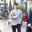 Exclusif - Aaron Carter fait du shopping avec sa soeur Angel à West Hollywood le 3 février 2018