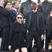 Fashion Week : Lindsay Lohan et son petit frère, charmants devant Salma Hayek