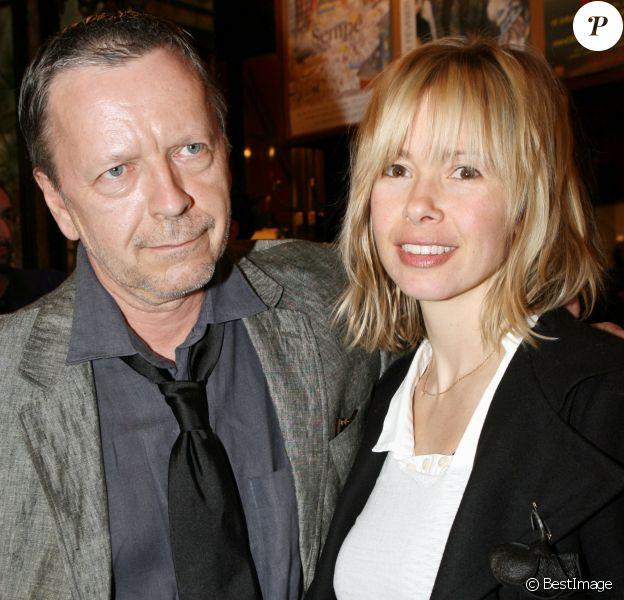 Renaud et Romane Serda - Prix Cazes 2007 à la brasserie Lipp, le 15 mars 2007.