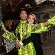 Jourdan Dunn et Cara Delevingne - Coulisses du défilé Off-White™ collection prêt-à-porter printemps-été 2019 lors de la Fashion Week de Paris, le 27 septembre 2018. © Ramsamy Veeren/Bestimage