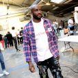 Virgil Abloh (fondateur et designer de Off White) - Coulisses du défilé Off-White™ collection prêt-à-porter printemps-été 2019 lors de la Fashion Week de Paris, le 27 septembre 2018. © Ramsamy Veeren/Bestimage