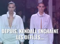 Kendall Jenner et Bella Hadid : Duo irrésistible devant Cara Delevingne