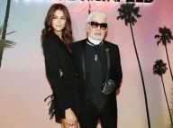 Kaia Gerber : Lumineuse avec Karl Lagerfeld pour la fin de Fashion Week