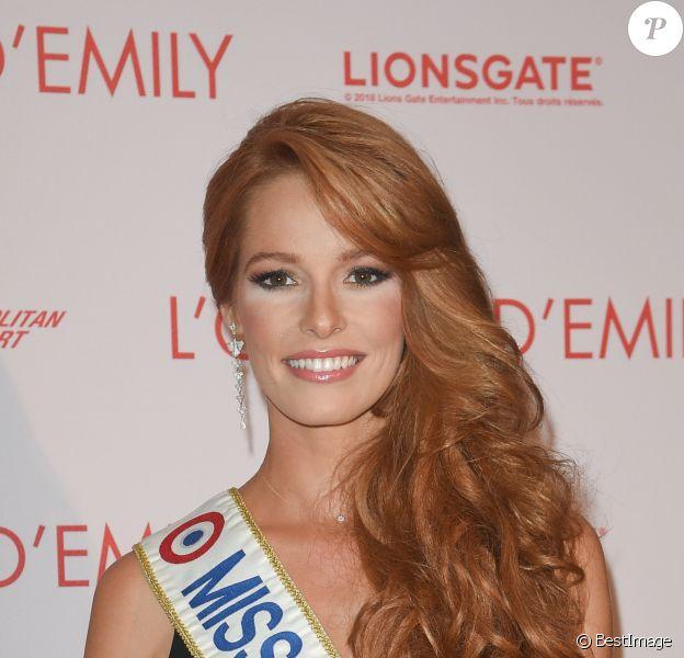 """Maëva Coucke (Miss France 2018) - Avant-première du film """"L'ombre d'Emily"""" au cinéma l'UGC Normandie à Paris le 18 septembre 2018. © Coadic Guirec/Bestimage"""