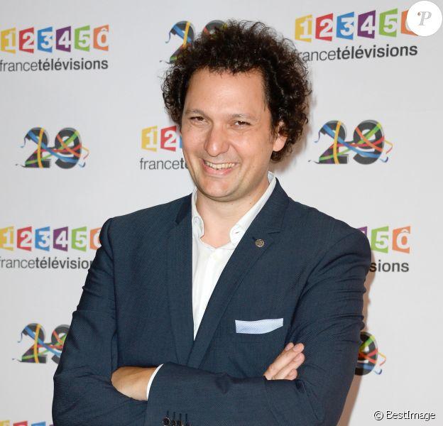 Eric Antoine au photocall de France Télévisions, pour la présentation de la nouvelle dynamique 2016-2017, à Paris, le 29 juin 2016. © Guirec Coadic/Bestimage