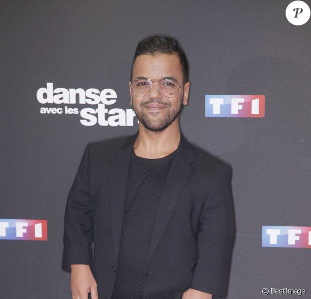 """Anouar Toubali - Photocall de la saison 9 de l'émission """"Danse avec les stars"""" (DALS) au siège de TF1 à Boulogne-Billancourt le 11 septembre 2018. © Christophe Aubert"""