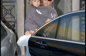 Mark Wahlberg est-il devenu... l'homme à deux têtes ? mais non, c'est sa craquante Ella !