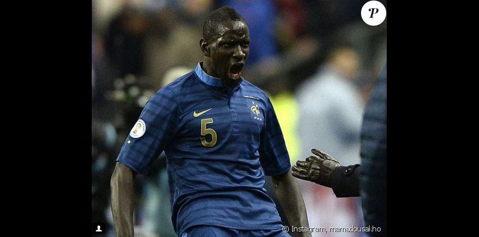 Mamadou Sakho heureux de revenir en équipe de France. Instagram le 4 octobre 2018.