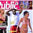 """Couverture du nouveau numéro du magazine """"Public"""" en kiosque ce vendredi 12 octobre 2018"""