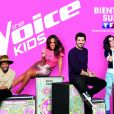 Amel Bent, Jenifer, Soprano, Patrick Fiori, les coachs de The Voice Kids 5.