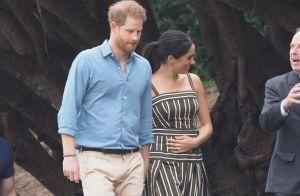 Meghan Markle enceinte : Main posée sur le ventre aux côtés du prince Harry