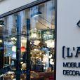"""Semi-exclusif - Ambiance - à l'ouverture de """"L'atelier 55"""" dans le 7ème arrondissement de Paris, France, le 18 octobre 2018. © Pierre Perusseau/Bestimage"""