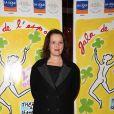 Anne Roumanoff au 26ème Gala de l'Espoir au profit de la Ligue Contre Le Cancer au théâtre des Champs Elysées à Paris, France, le 22 octobre 2018. © Giancarlo Gorassini/Bestimage