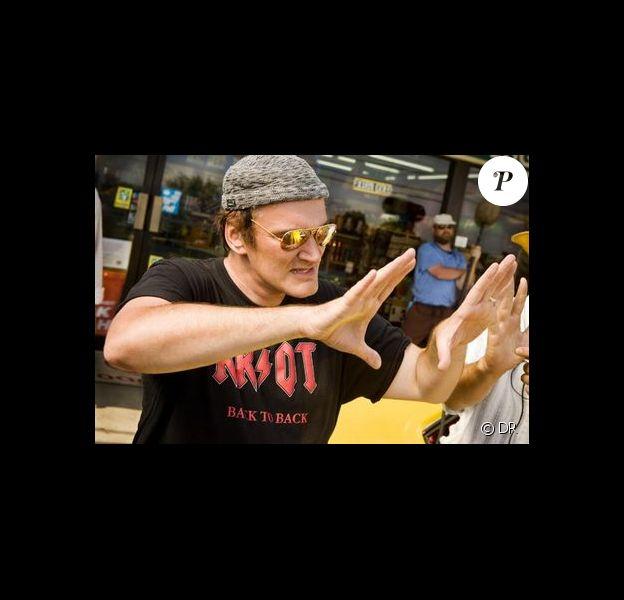 Quentin Tarantino au travail !