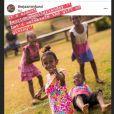 Jazmin Grace Grimaldi documente sur son compte Instagram ses activités philanthropiques via le Jazmin Fund.