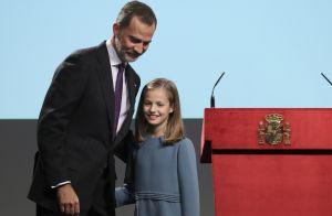 Princesse Leonor : Premier discours officiel le jour de ses 13 ans, Felipe fier