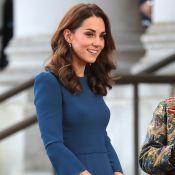 Kate Middleton : Stylée et ravissante en bleu pour un grand moment d'émotion