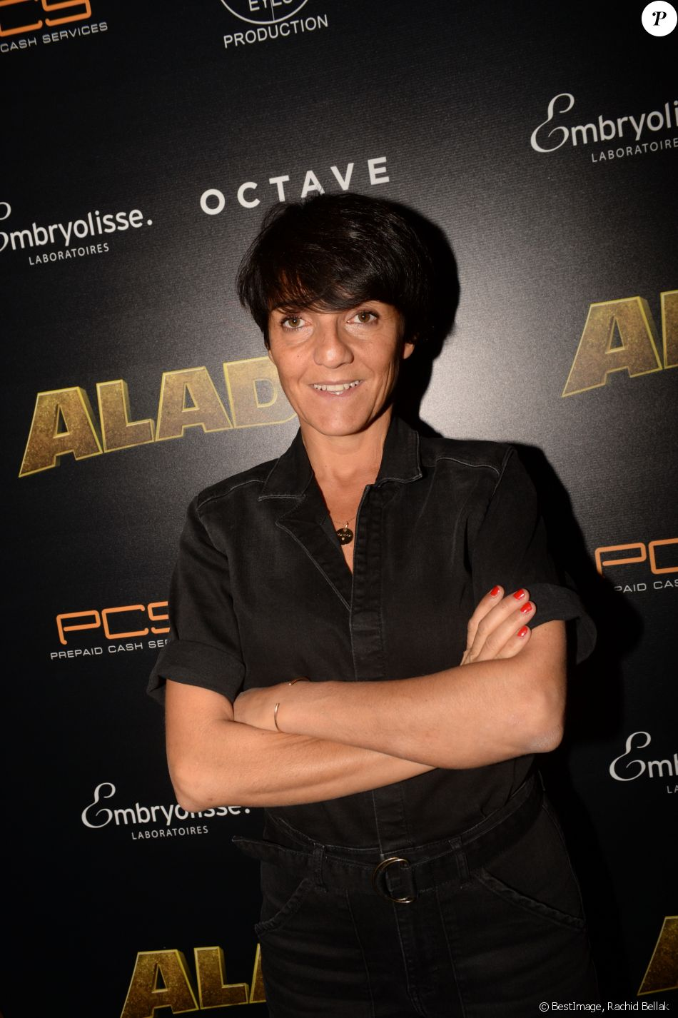 Semi-Exclusif - Florence Foresti - Les célébrités posent lors de l'After Party du film Alad'2 au Club Haussman à Paris le 21 septembre 2018. © Rachid Bellak/Bestimage