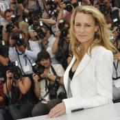 Robin Wright, une beauté bien tristounette à Cannes...